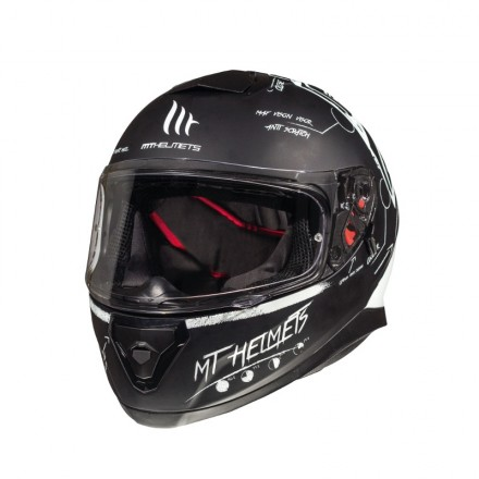 Casco MT Ff102Sv Thunder 3 Sv Board - MT Helments